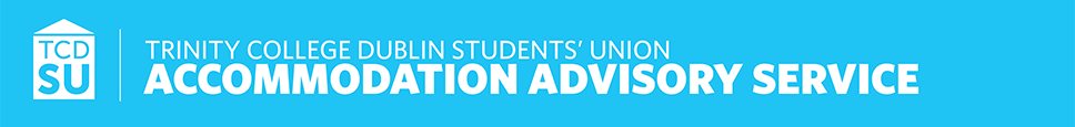 TCDSU Accommodation Advisory Service Logo